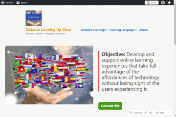 DistanceLearningUpClose Site
