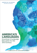 Cover of America's Languages report